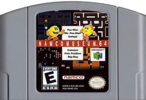 Namco Museum 64 Nintendo 64 N64 video game cartridge image pic