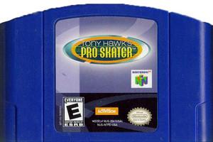 Tony Hawk's Pro Skater - N64 Game