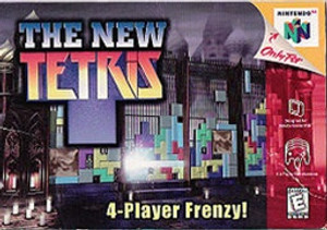 New Tetris, The - N64 Game