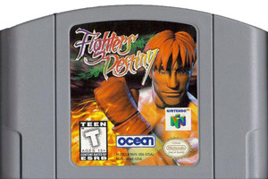 Fighters Destiny Nintendo 64 N64 video game cartridge image pic