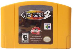 Tony Hawk's Pro Skater 2 Nintendo 64 N64 video game cartridge image pic