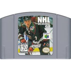 NHL Breakaway 98 - N64 Game Cartridge