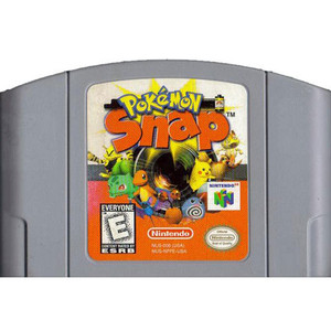 Pokemon Snap Nintendo 64 N64 video game cartridge image pic