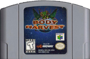 Body Harvest - N64 Game