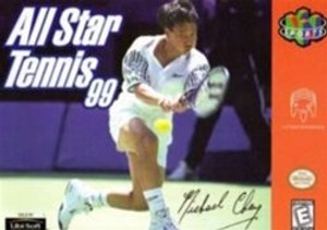 All Star Tennis 99 - N64 Game