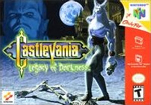 Castlevania Legacy of Darkness - N64 Game