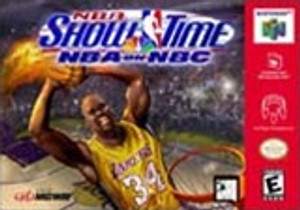 NBA Show Time on NBC - N64 Game
