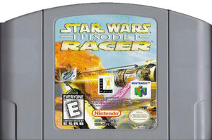 Star Wars Racer Episode 1 Nintendo 64 N64 video game cartridge image pic
