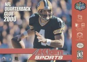 NFL Quarterback Club 2000 QB- N64 Game