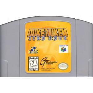 Duke Nukem Zero Hour Nintendo 64 N64 video game cartridge image pic