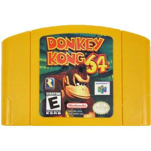 Donkey Kong 64 Nintendo 64 N64 video game cartridge image pic