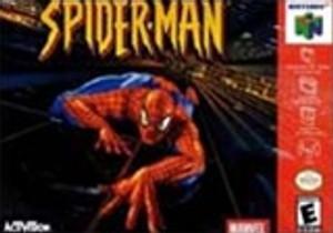 Spider-Man Nintendo 64 N64 video game cartridge image pic