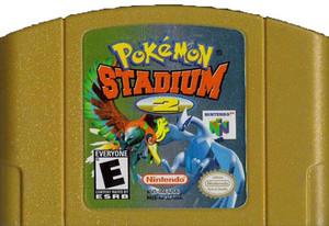 Pokemon Stadium 2 Nintendo 64 N64 video game cartridge image pic