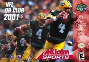 NFL Quarterback Club 2001 - N64 Game