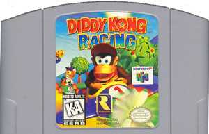 Diddy Kong Racing Nintendo 64 N64 video game cartridge image pic