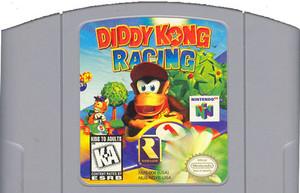 Diddy Kong Racing Nintendo 64 N64 video game cartridge image pic