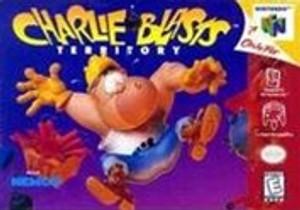 Charlie Blast's Territory - N64 Game