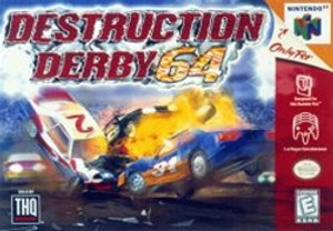 Destruction Derby - N64 Game