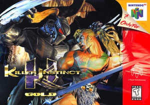 Killer Instinct Gold Nintendo 64 N64 video game box art image pic