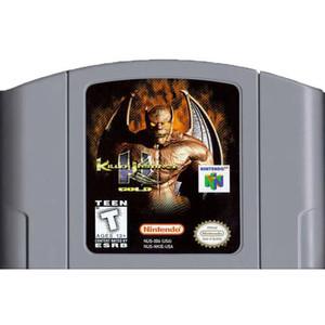 Killer Instinct Gold Nintendo 64 N64 video game cartridge image pic