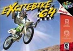 Excitebike 64 Nintendo 64 N64 video game box art image pic