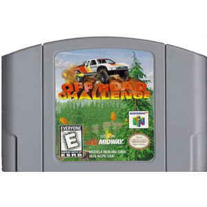 Off Road Challenge Nintendo 64 N64 video game cartridge image pic