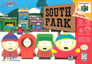 South Park Nintendo 64 N64 video game box art image pic