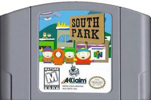 South Park Nintendo 64 N64 video game cartridge image pic