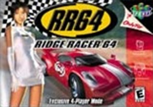 Ridge Racer 64 - N64 Game