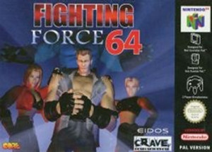 Fighting Force 64 - N64 Game