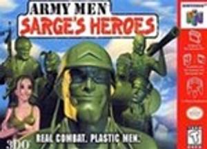 Army Men Sarge's Heroes - N64 Game