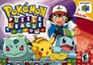 Pokemon Puzzle League - N64 Game