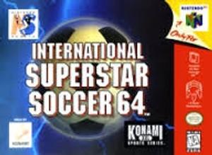 International Superstar Soccer 64 - N64 Game