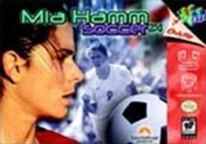 Mia Hamm Soccer - N64 Game