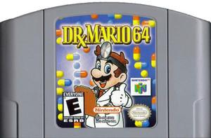 Dr. Mario 64 - N64 Game