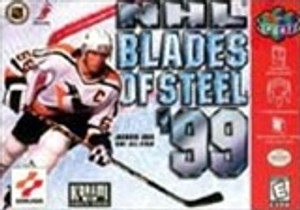 NHL Blades of Steel '99 - N64 Game