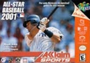 All Star Baseball 2001 - N64 Game