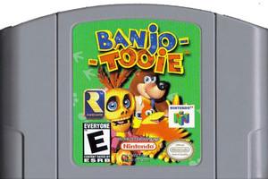 Banjo Tooie Nintendo 64 N64 video game cartridge image pic