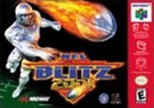 NFL Blitz 2001 - N64 Game