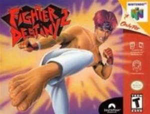 Fighter Destiny 2 - N64 Game