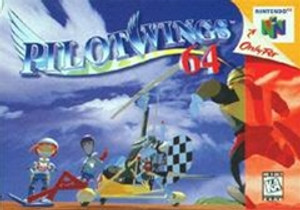 Pilot Wings 64 - N64 Game