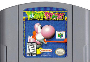 Yoshi's Story Nintendo 64 N64 video game cartridge image pic