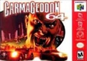 Carmageddon 64 - N64 Game