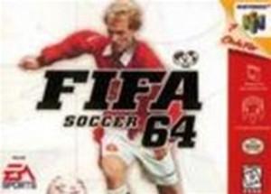 FIFA Soccer 64 - N64 Game
