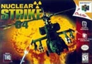 Nuclear Strike 64 - N64 Game