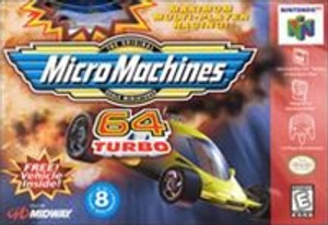 Micro Machines 64 Turbo - N64 Game