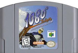 1080 Snowboarding Nintendo 64 N64 video game cartridge image pic