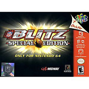 NFL Blitz Special Edition 64 - N64 Game