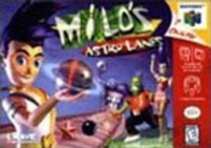 Milo's Astro Lanes 64 - N64 Game
