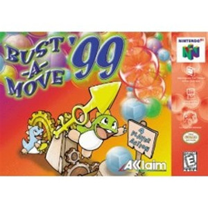Bust A Move 99 64 - N64 Game